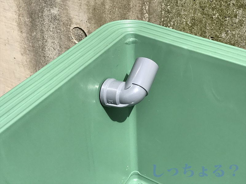 排水エルボ