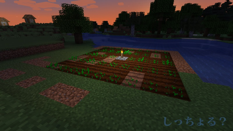 一砂Minecraft畑