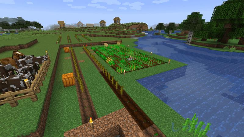 一砂Minecraft畑拡張