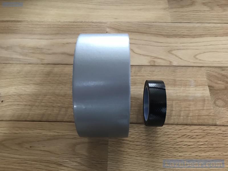 ゴリラテープと自己融着テープの比較
