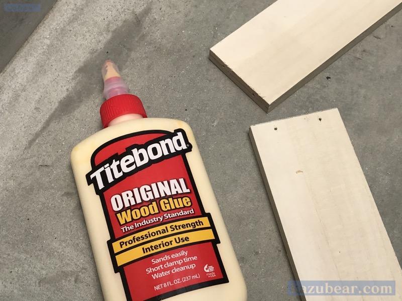 木工にタイトボンド