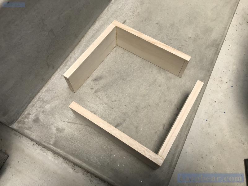 セメント木枠